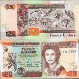 Banknote collection Belize Pick number 69 - 20 Dollar