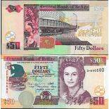 Collection of Banknote Belize Pick number 70 - 50 Dollar