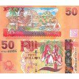 Collection of Banknote Fiji Pick number 118 - 50 Dollar