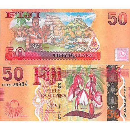 Billets de collection Billet de banque collection Fidji - PK N° 118 - 50 Dollars Billets des Fidji 61,00 €