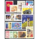 Briefmarke Andorra 1996 neues ganzes Jahr