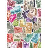 Sammlung von 100 neuen Briefmarken spanische Sahara