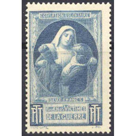 Timbres de Bienfaisance Lot 15 timbres différents