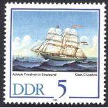 East Germany - Year 1988 supplements new stamps