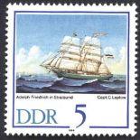 Ostdeutschland - Jahr 1988 vervollständigt neue Briefmarken