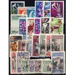 Tanger Sammlung von 25 neuen und gestempelten Briefmarken