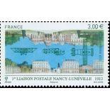 El correo aéreo francés sello N ° 75 nuevos sin charnela