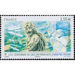 La posta aerea francese francobollo N ° 76 Nuevo non linguellato