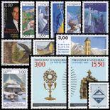 Briefmarke Andorra 1997 neues ganzes Jahr