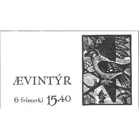 Carnet timbres des iles Féroé N° 100
