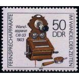 Allemagne de l'Est - Année 1989 complète timbres neufs