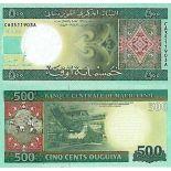 Billet de banque collection Mauritanie - PK N° 18 - 500 Quguiya