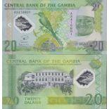 Billet de banque collection Polymère Gambie - PK N° 30 - 20 Dalasis