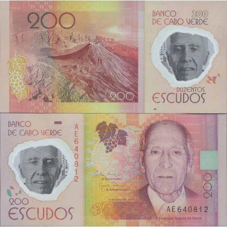 Billet de banque collection Cap Vert - PK N° 999 - 200 Escudos