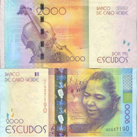Billet de banque collection Cap Vert - PK N° 999 - 2000 Escudos
