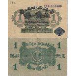 Billet de banque collection Allemagne - PK N° 52 - 1 Mark
