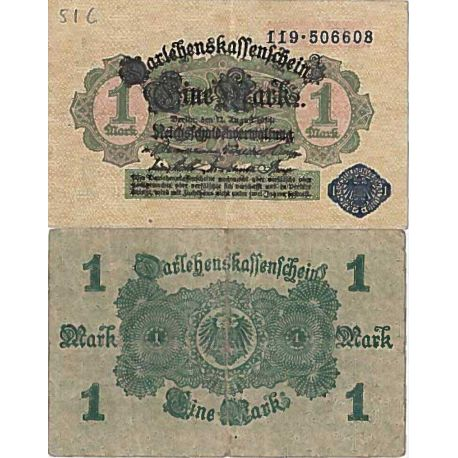 Billet de banque collection Allemagne - PK N° 52 - 1 Mark