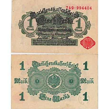 Billet de banque collection Allemagne - PK N° 51 - 1 Mark