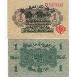 Schone Banknote Deutschland Pick Nummer 50 - 1 Deutsche Mark 1914