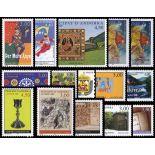 Briefmarke Andorra 1998 neues ganzes Jahr