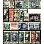 Stamps France 1952 complete year