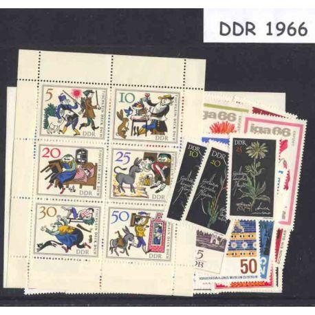 Allemagne DDR Année 1966 Complète neuves