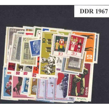 Allemagne DDR Année 1967 Complète neuves