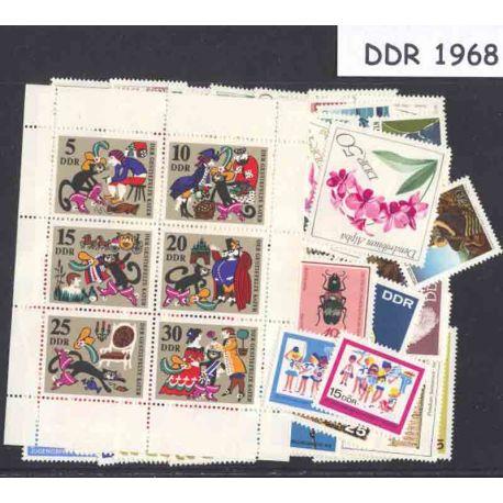 Allemagne DDR Année 1968 Complète neuves