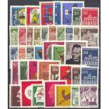 Deutschland die BRD Année 1966 vervollständigt neu