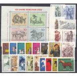 Deutschland Berlin Année 1969 vervollständigt neue Briefmarken