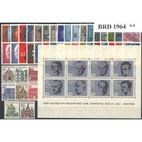 Allemagne RFA Année 1964 Complète neuves