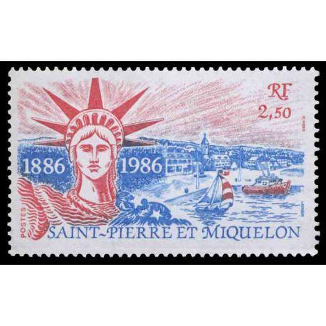 Timbre collection Saint Pierre et Miquelon - Yvert et Tellier N° 471 - Neuf sans charnière