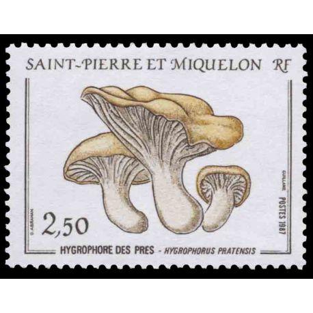 Timbre collection Saint Pierre et Miquelon - Yvert et Tellier N° 475 - Neuf sans charnière