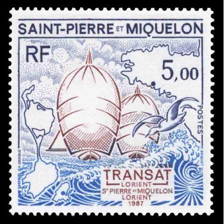 Timbre collection Saint Pierre et Miquelon - Yvert et Tellier N° 477 - Neuf sans charnière