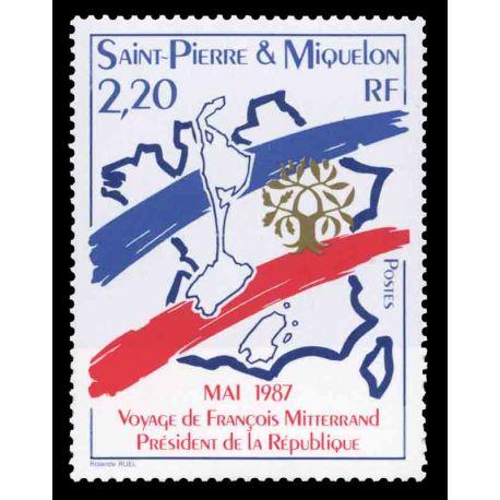 Timbre collection Saint Pierre et Miquelon - Yvert et Tellier N° 478 - Neuf sans charnière
