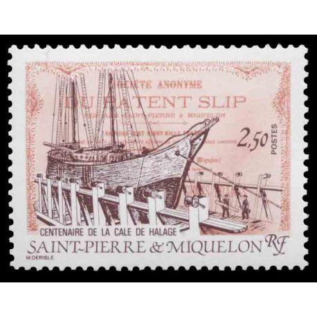 Timbre collection Saint Pierre et Miquelon - Yvert et Tellier N° 479 - Neuf sans charnière