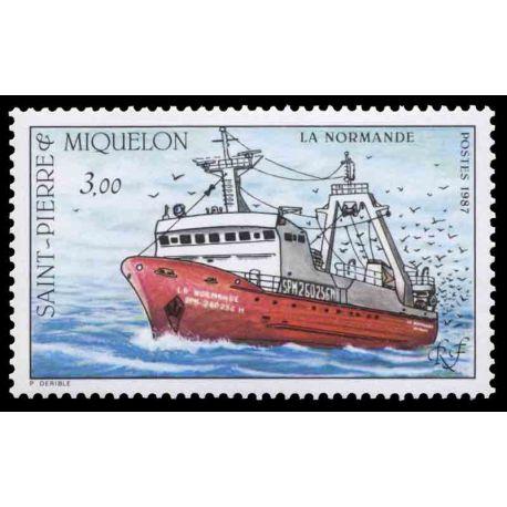 Briefmarkensammlung St. Pierre und Miquelon - Yvert et Tellier Nr 482 - Postfrische