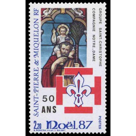 Timbre collection Saint Pierre et Miquelon - Yvert et Tellier N° 483 - Neuf sans charnière