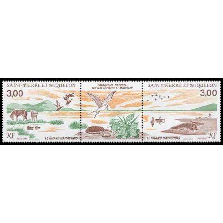Timbre collection Saint Pierre et Miquelon - Yvert et Tellier N° 485A - Neuf sans charnière