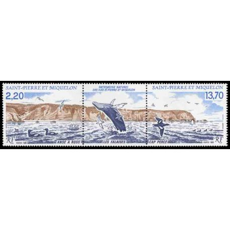 Timbre collection Saint Pierre et Miquelon - Yvert et Tellier N° 495A - Neuf sans charnière