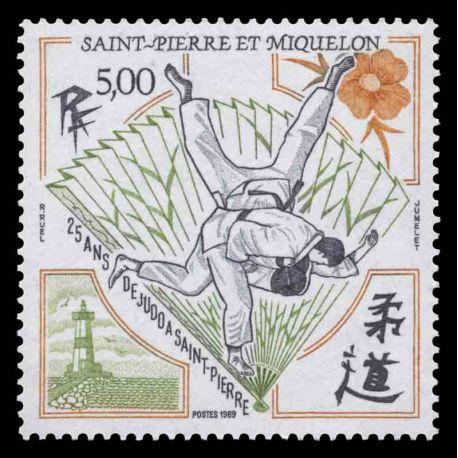 Briefmarkensammlung St. Pierre und Miquelon - Yvert et Tellier Nr 498 - Postfrische