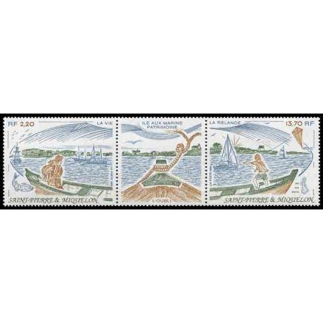 Timbre collection Saint Pierre et Miquelon - Yvert et Tellier N° 509A - Neuf sans charnière