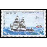 Timbre collection Saint Pierre et Miquelon - Yvert et Tellier N° 510 - Neuf sans charnière