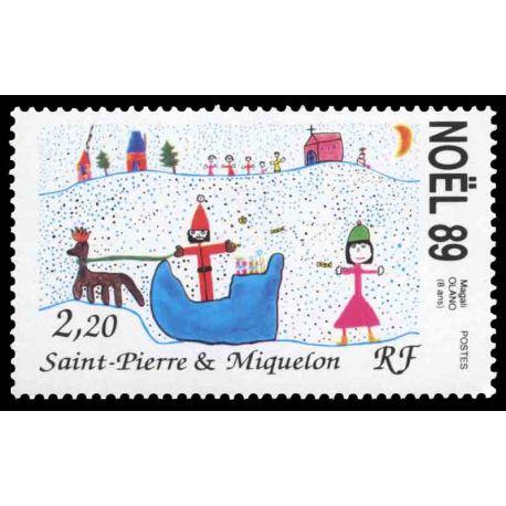 Timbre collection Saint Pierre et Miquelon - Yvert et Tellier N° 512 - Neuf sans charnière