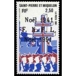 Timbre collection Saint Pierre et Miquelon - Yvert et Tellier N° 554 - Neuf sans charnière