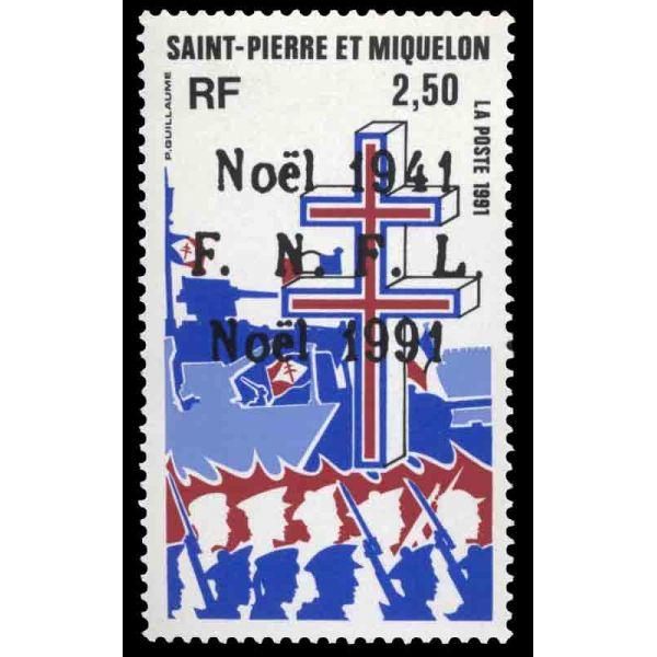 Stamp Collection Saint Pierre And Miquelon Yvert Et Tellier No