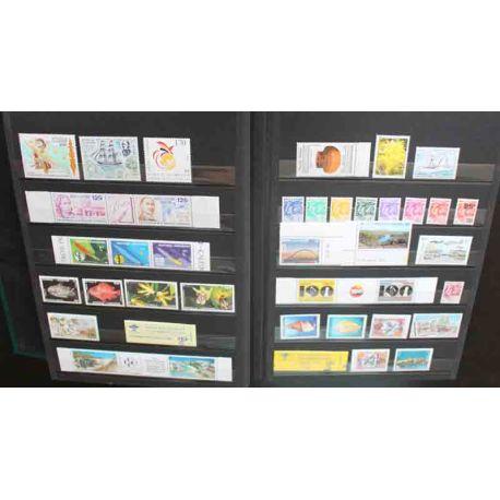 Collection de timbres de Nouvelle Calédonie 1991 à 1996