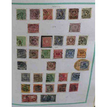 Collection de timbres Allemagne 1872 à 1980