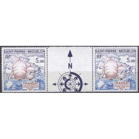 Timbre collection Saint Pierre et Miquelon - Yvert et Tellier N° 477A - Neuf sans charnière