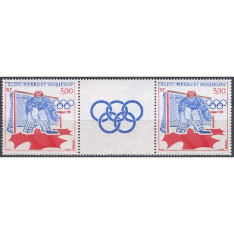 Briefmarkensammlung St. Pierre und Miquelon - Yvert et Tellier Nr 487a - Postfrische